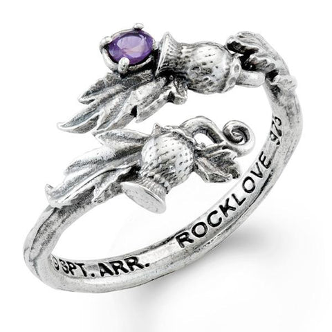Outlander Thistle Wrap Ring by RockLove