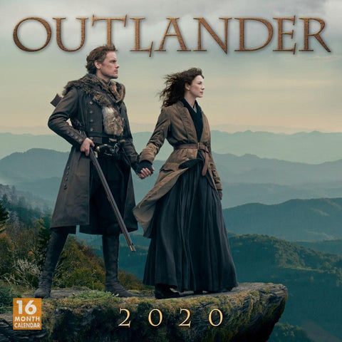 2020 Outlander 16-Month Wall Calendar