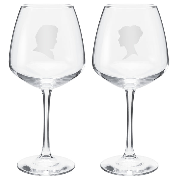 Outlander 2-Pack Crystal Wine Glass Set