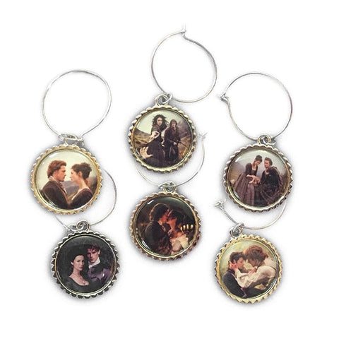 Outlander Love Wine Charms
