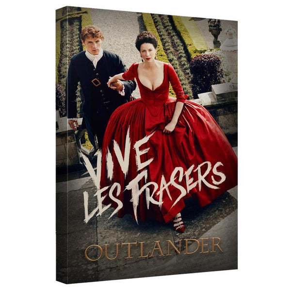 Outlander Vive Les Frasers Canvas Wall Art
