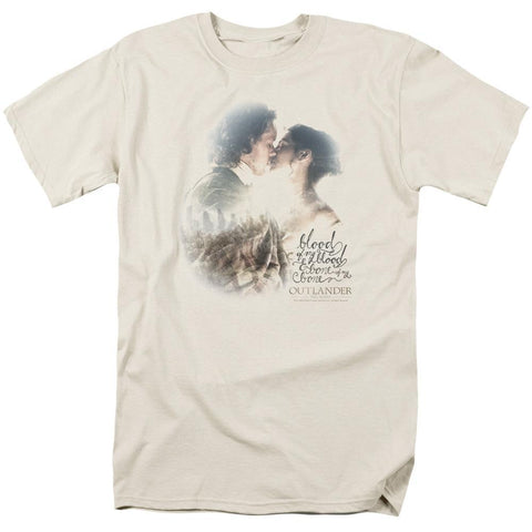 Outlander Blood Of My Blood Adult Cream T-Shirt