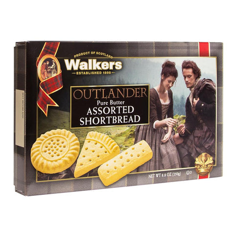 Walkers Outlander Assorted Shortbread 8.8 Ounce