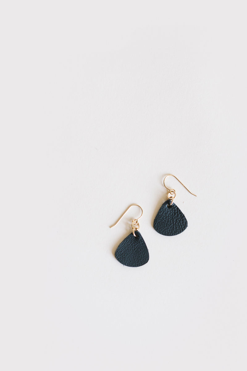 Classic Leather Earrings