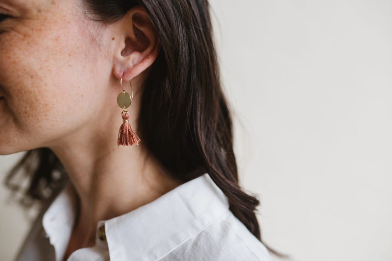 NOMAD Tassel Earrings