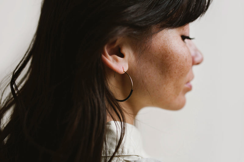 NOMAD Hoop Earrings