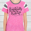 Beautifully Broken Ladies Fan T-Shirt