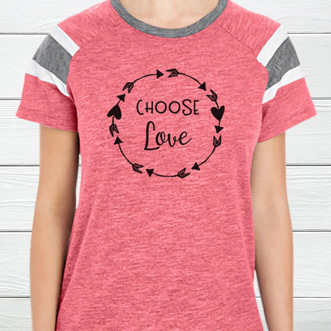 Choose Love Fan T-Shirt
