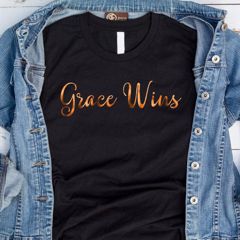 Image of Grace Wins T-Shirt