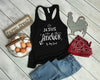 Jesus Is My Anchor Razor Back Tank Top