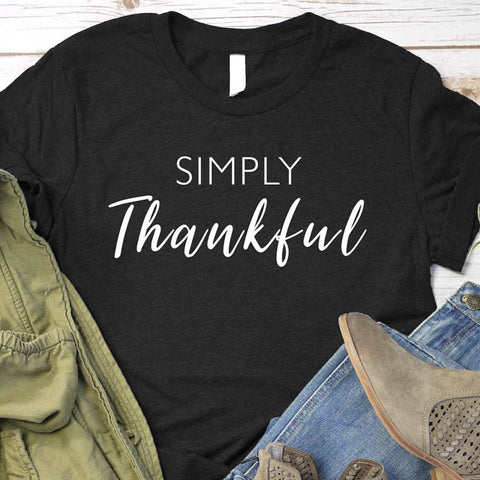 Image of Simply Thankful T-Shirt