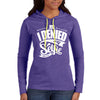 I Denied My Selfie Light Weight Cotton Hoodie