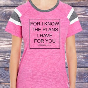For I Know The Plans That I Have For You Fan T-Shirt