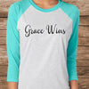 Grace Wins Baseball Tee