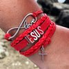 Infinite Love Jesus Bracelet
