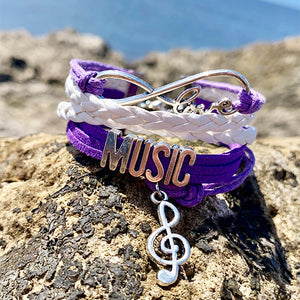 Music Infinite Love Bracelet