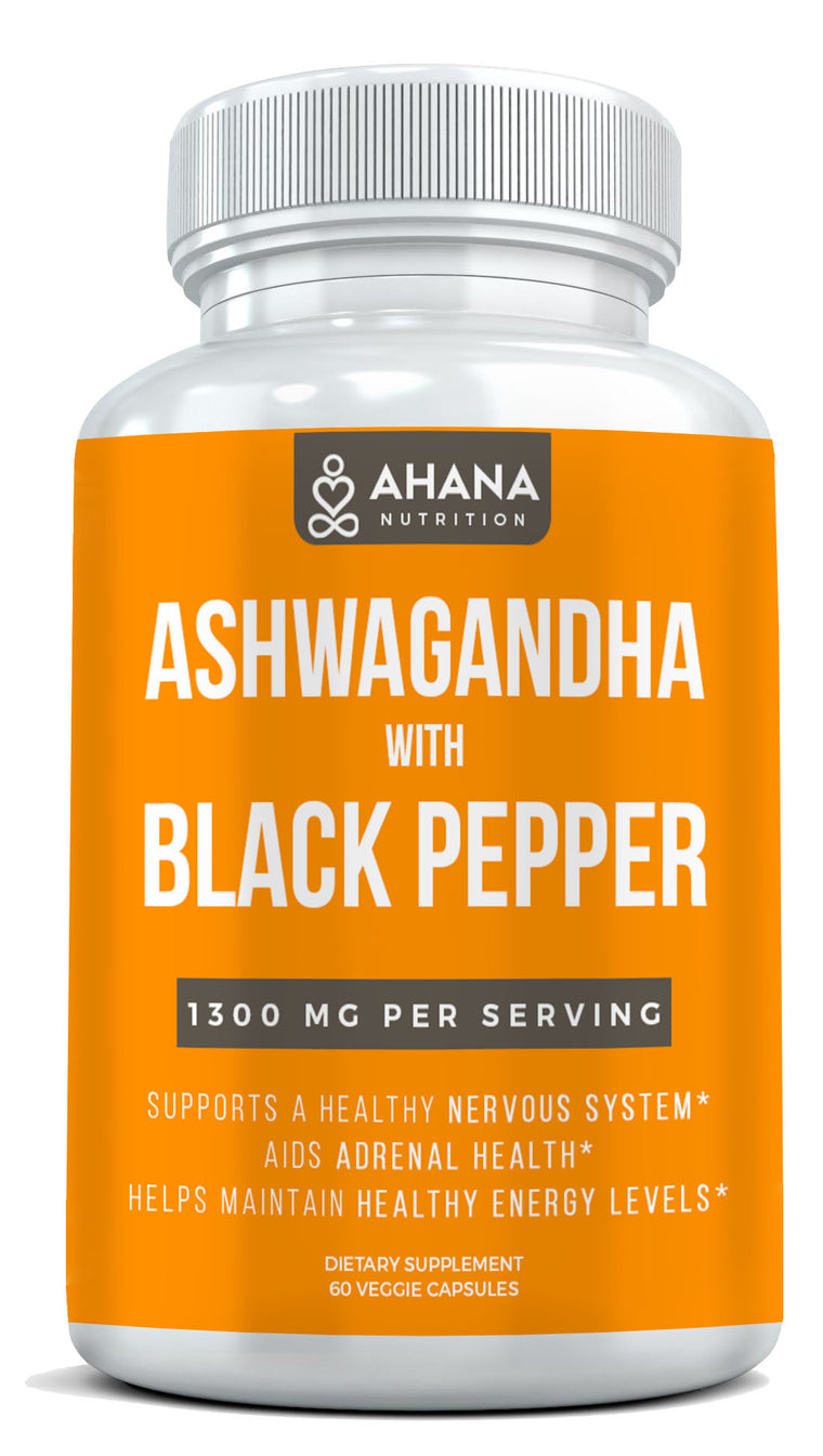 Ashwagandha Capsules With Black Pepper