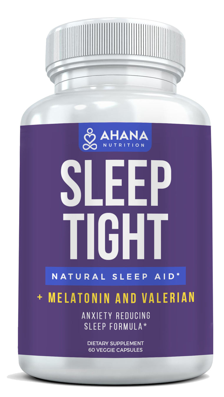 Sleeping Tight - Natural Sleep Aid with Melatonin