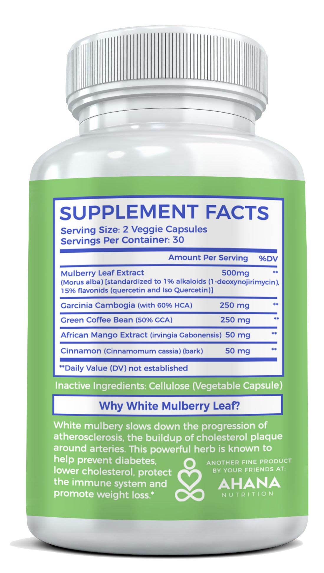 White Mulberry Leaf Extract For Weight Loss