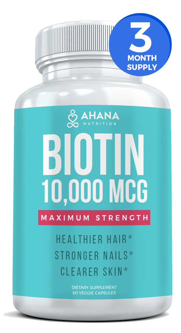 Biotin - 3 Month Supply