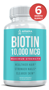 Biotin - 6 Month Supply