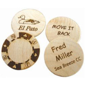 Big Birch Ball Markers