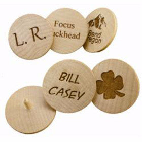 Birch Ball Markers