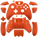 Xbox One Matte Orange Wireless Controller Shell