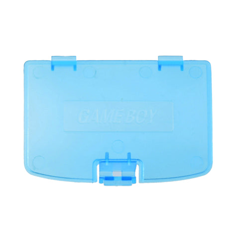 Nintendo Gameboy Color Clear Blue Battery Cover