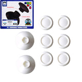 8 in 1 Removable Thumb Stick for the Dualshock 4 White