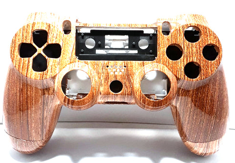 Playstation 4 Wood Shell Housing for the Dualshock Controller