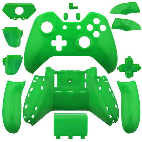 Xbox One Glossy Green Wireless Controller Shell