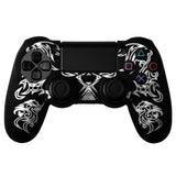 Protective Sleeve For PS4 Controllers - Dragon Black White