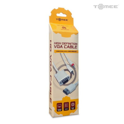 Dreamcast High Definition VGA Cable w/ RCA Sound Cable