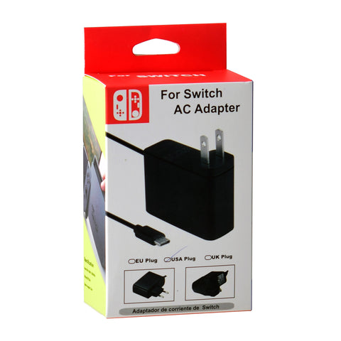 Universal AC Power Adapter Type-C for Nintendo Switch US plug