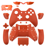 Xbox One Matte Orange Wireless Controller Shell with Audio jack