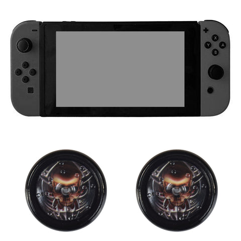 Project Design Jelly Procap for Nintendo Switch Analog Sticks Skull Head Design