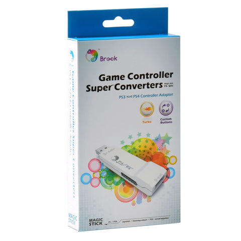 Brook PS3 to PS4 Gaming Converter White