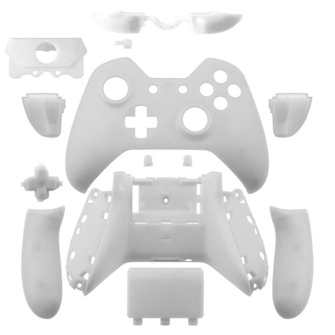 Xbox One Matte White Wireless Controller Shell with Audio jack