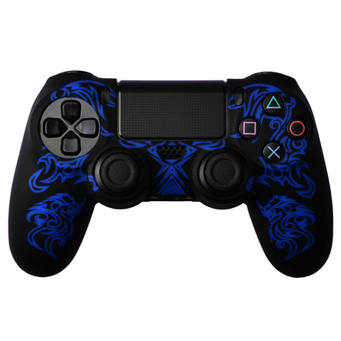 Protective Sleeve For PS4 Controllers - Dragon Black Blue