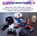 Brook Power Bay Crimson for the Nintendo Switch without Bluetooth