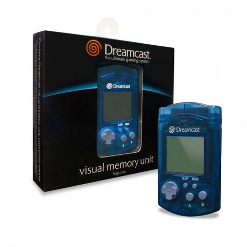Sega Dreamcast Visual Memory Unit Card (Blue)