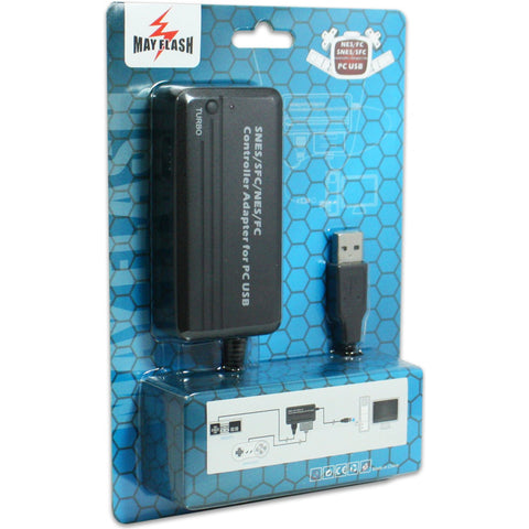 NES/SNES Controller Adapter for PC USB