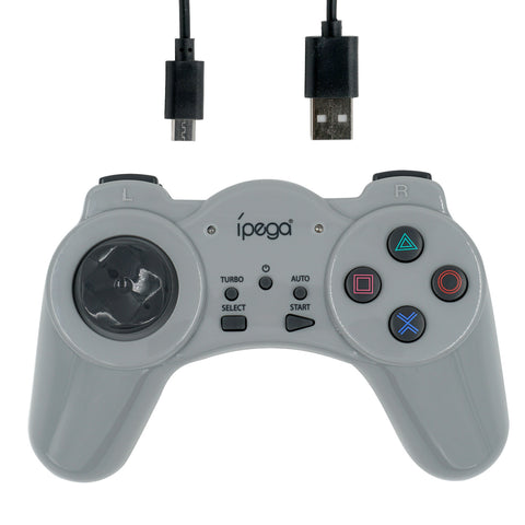 Ipega 2.4G Wireless Controller for the PS One Mini Console - Grey