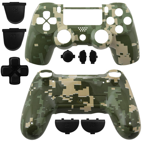 Playstation 4 DualShock Replacement Controller Shell Camouflage