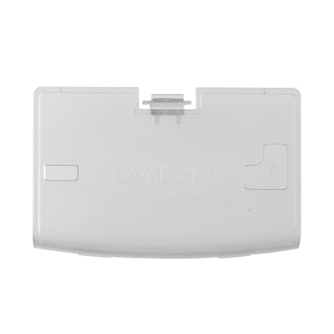 Battery Cover Shell Foor for Nintendo Gameboy Advance Clear White