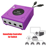 4 PORTS GC GAMECUBE CONTROLLER ADAPTER FOR GAMECUBE TO SWITCH PC + TURBO FIRE