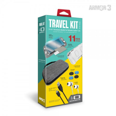 Travel Kit for the Nintendo Switch Lite - Armor3