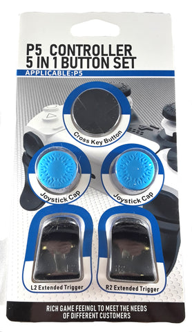 Trigger and Thumbstick button set for the Playstation 5 Controller