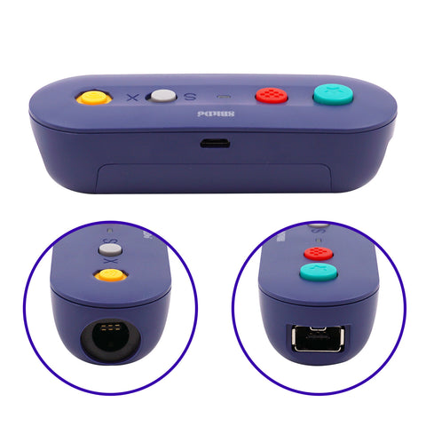 8Bitdo GBros Wireless Controller Adapter for Switch - GC/WII/WIIU/NES/SNES